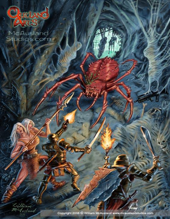 ♕ SPIRIT BRINGERS: EMPYREAN REALM. (SAGA DE VALAFLAM) - Página 4 McAusland-TME-giant-mutant-spider-attack-10inch